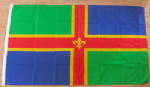 Lincolnshire Large Country Flag - 5' x 3'.